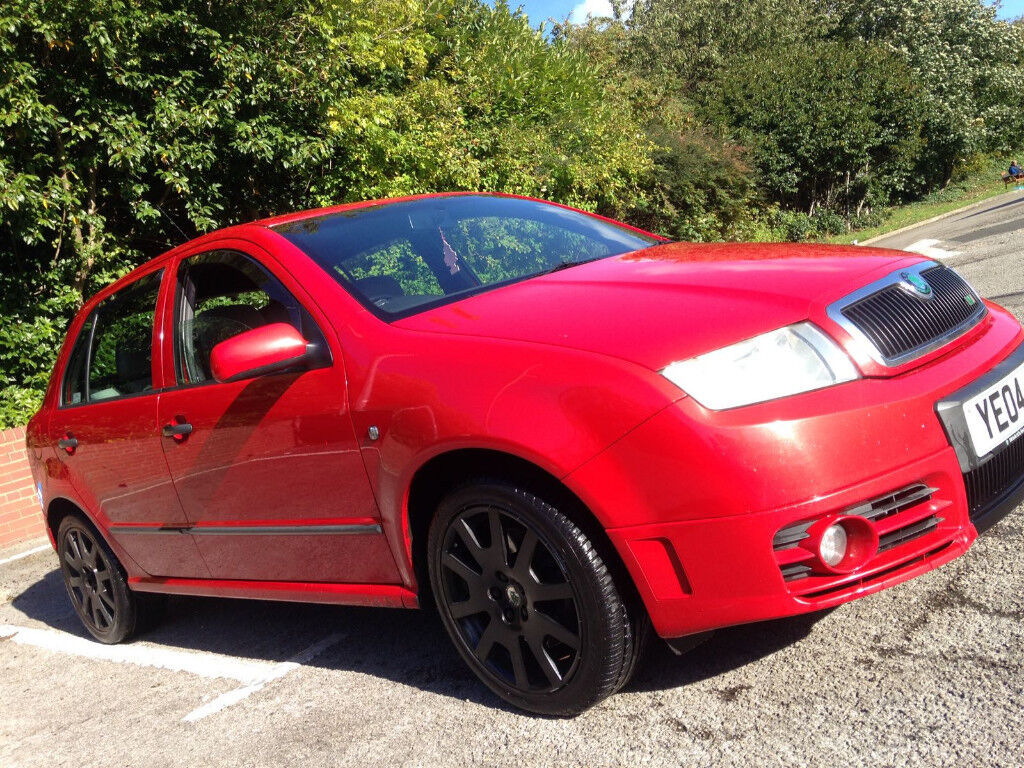 2004 Fabia VRS 1.9 TDI 130 PD 6 Speed Manual 1 Owner!!