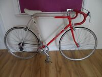 RETRO ORBIT RACING BIKE 10 GEAR 1980S LARGE FRAME 24 INCHES