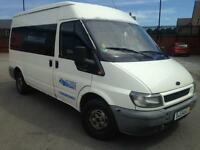 Ford transit lhd minibus 8 seater left hand drive AC