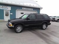 2000 Chevrolet Blazer LS,1 OWNER, WELL OILED!! LOCAL TRADE !!