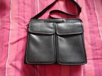 Leather briefcase laptop bag professional bag