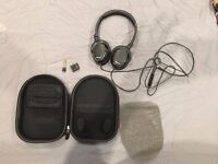 Klipsch Noise Reduction Headphones with Mic (excellent condition)