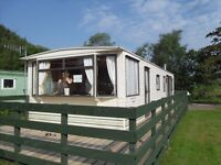 PRICE REDUCED FURTHER FOR QUIICK SALE - CARNABY FREE STYLE STATIC CARAVAN, 35'X12', 2 BEDROOMED -