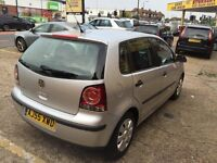 2006 VW POLO 1.2 SILVER 5 DOOR 1 LADY OWNER FULL SERVICE HISTORY 73 000 MILES