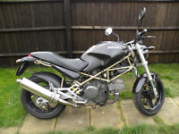 DUCATI monster 600 Dark, MOT until March 2018, Datatag, good condition for age
