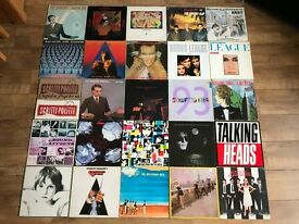 "JOBLOT 115 VINYL ALBUMS + 12"" SINGLES - NEW WAVE / INDIE / PUNK / SYNTH POP / NEW ROMANTIC"