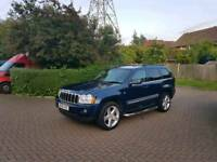 55 Reg Jeep Grand Cherokee Limited 3.0 CRD V6 Auto