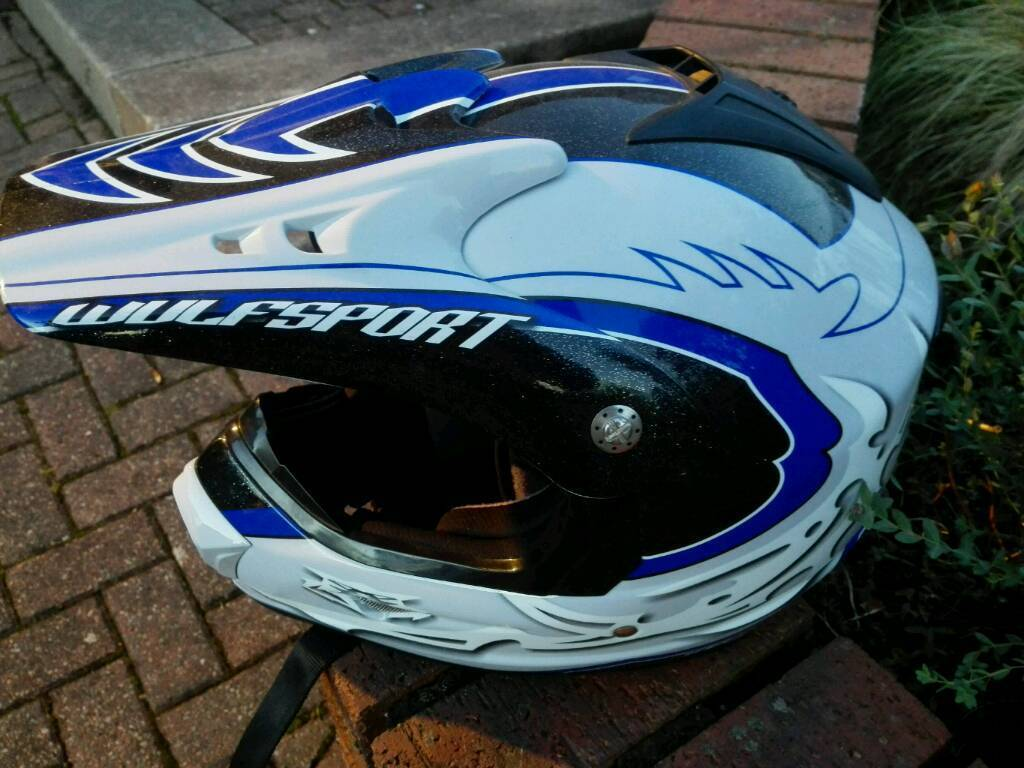 Motorcross helmet (Reduced price)