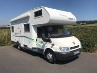 Ford Motor Home Chausson 6 Berth 37,000 miles