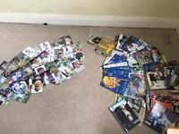 Leeds united programmes/ football cards