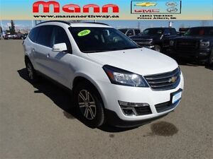 2016 Chevrolet Traverse LT 2LT-Sunroof,Remote Start, Alloy Wheel