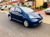TOYOTA AYGO BLUE 2007 1 L ENGINE LOW MILEAGE NEW MOT