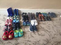 22 pairs boys shoes