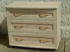 Cream Chest of IKEA Drawers Three good sized Drawers