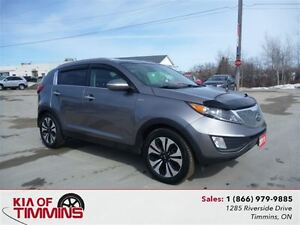 2011 Kia Sportage EX Luxury w/Navigation Leather Rear Camera
