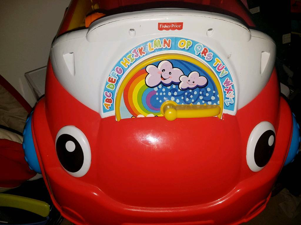 Fisher price play activity car