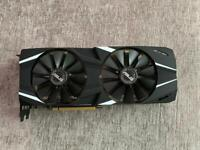 ASUS Dual Asus GeForce RTX 2070 OC Edition Graphics Card 8 GB