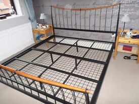Super King Size Metal Frame Bed - NOW SOLD