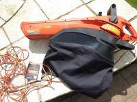 Flymo leaf blower / vac, 2700Watt