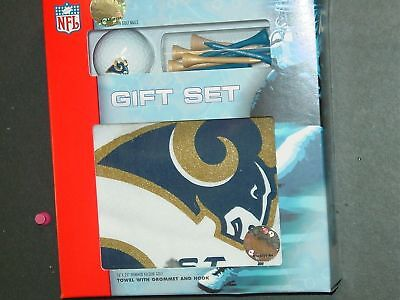NFL Golf Ball, Tees and Towel Set, St. Louis Rams, NEW