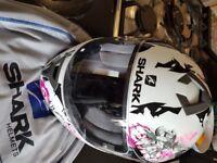 Womans motorcycle helmet, XS