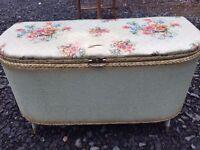 Original 1950s ottoman/blanket box