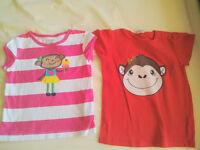 Bundle X12 Baby Girl 9-12 months Clothes: Dress, Tops, Hat (Minnie Mouse, H+M etc)