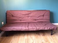 Futon Sofa Bed with Mattress