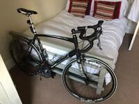 Raleigh Ravenio Carbon Road Bike + Tacx Trainer