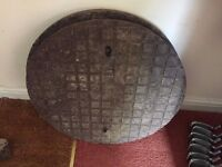 Drain access manhole covers