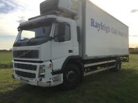 2003 Volvo FM9 Fridge Box, 18ton with Tail Lift and Overnight, Automatic & LEZ Compliant