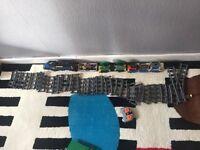 Lego City cargo train with remote control