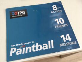 IPG Paintballing Ticket x20 (+ 2000 FREE Paintballs)
