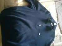 Gents Lacoste zipper navy xl in new condition 100 per cent real £20 to clear