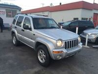 2002 Jeep Liberty LIMITED EDITION 4X4 3.7L V6 3250$ 514-692-0093