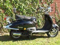 """""""TOMMY"""" LEXMOTO 125cc Reg 2011"""