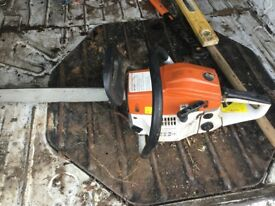 Chain saw good condition