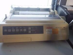 OKIDATA OKI ml 320 MICROLINE 320  MATRIX PRINTER Parallel interf
