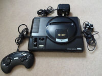 Sega Mega Drive Games Console - MegaDrive