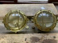 Porthole lights - exterior