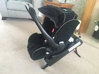Recaro Young Profi Plus Car Seat and Isofix Base
