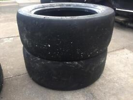 Michelin S9C 19/57R15 slicks track day tyres 195/50R15 pair x2