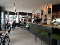 Fast and dedicated Kitchen Assistant for speciality coffee chop and wine bar - starting ASAP