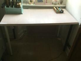 Painted Ikea Desk/ Table