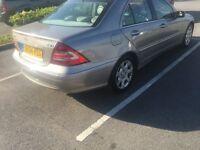 Mercedes c200 diesel cheap 2004 £1280ono