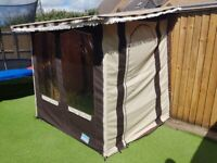 BRADCOT universal awning - fits to all caravans.