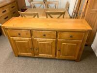 Solid oak sideboard * free furniture delivery *