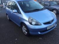 2003 honda jazz 1.3 drives superb lady owned long mot full spec sparesn repairs part ex clearance !