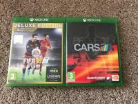 XBox One Fifa 16 & Project Cars