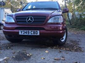 Mercedes Ml 270cdi 7seater, diesel automatic, full time 4x4